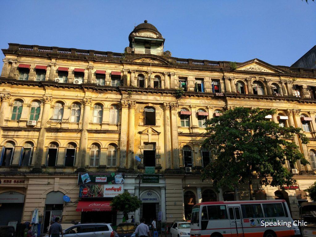 Heritage building Yangon