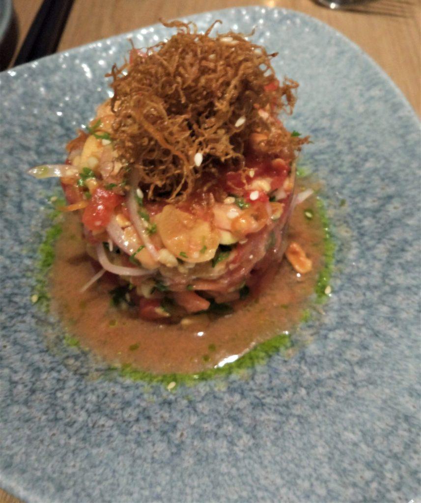 Burmese Tomato salad Miss T Mumbai
