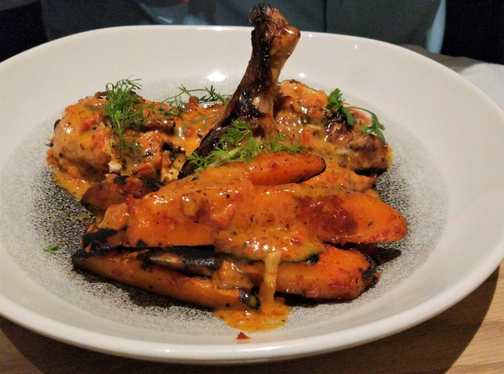 Miss T Mumbai chargrilled chicken