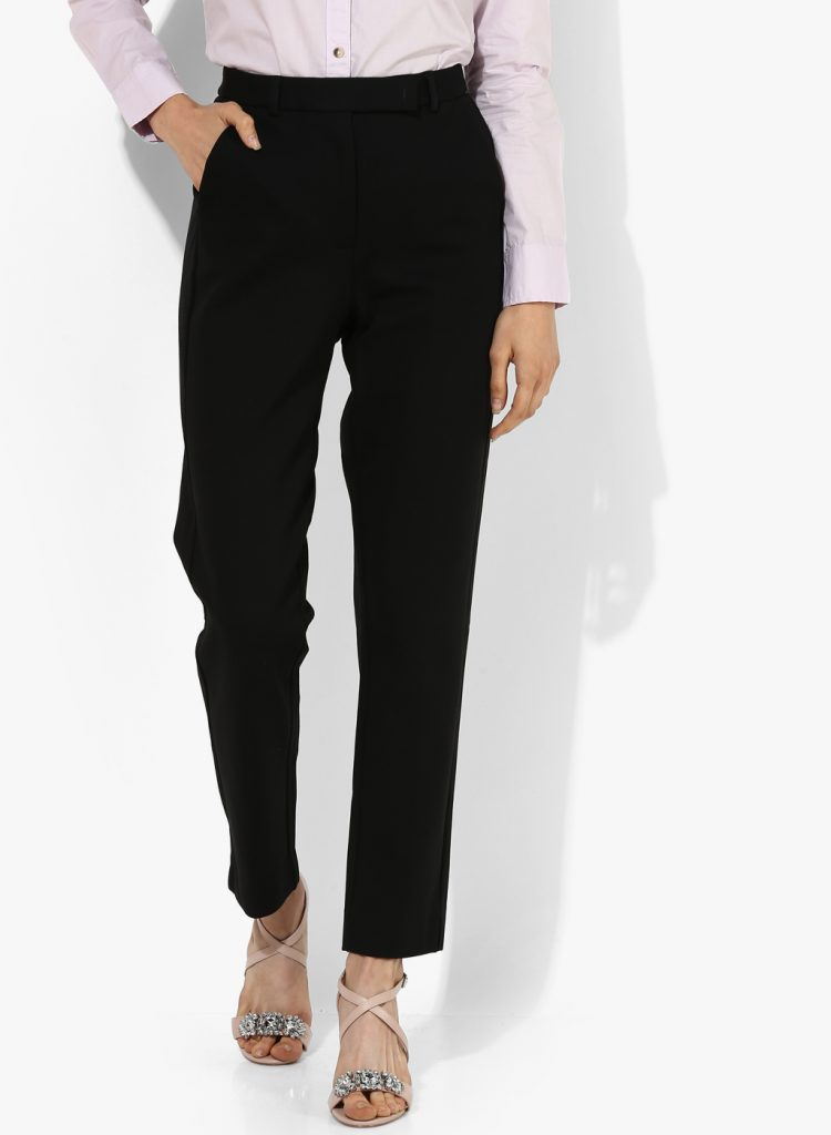 Black trousers M&S