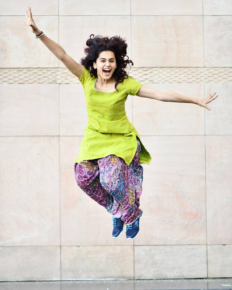 Taapsee Pannu as Rumi style in Manmarziyaan