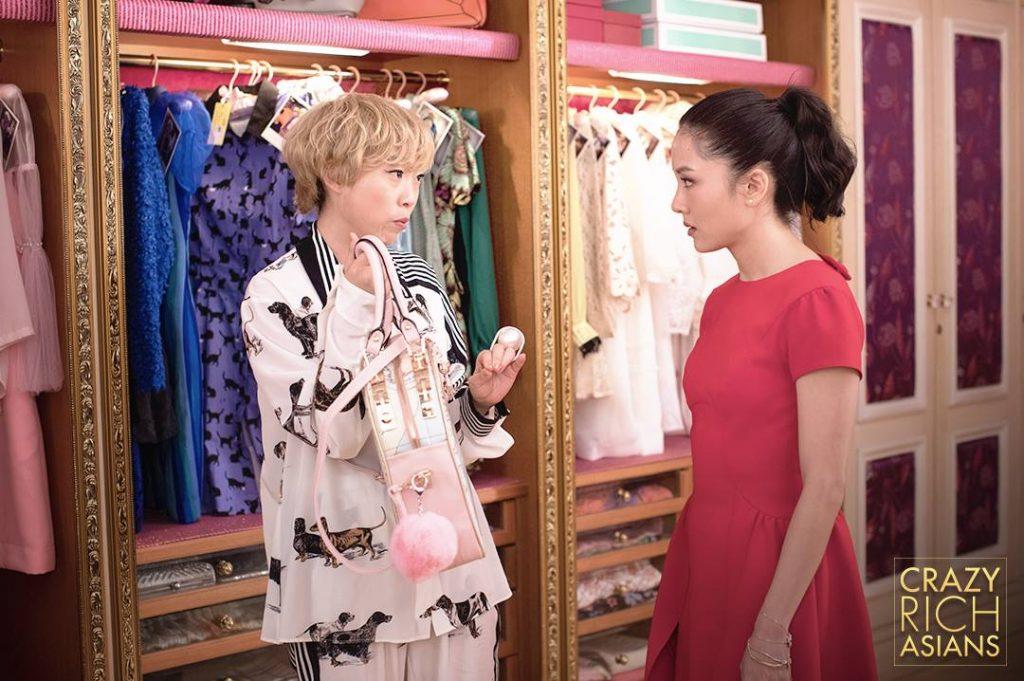 Awkwafina Constance Wu Crazy Rich Asians fashion