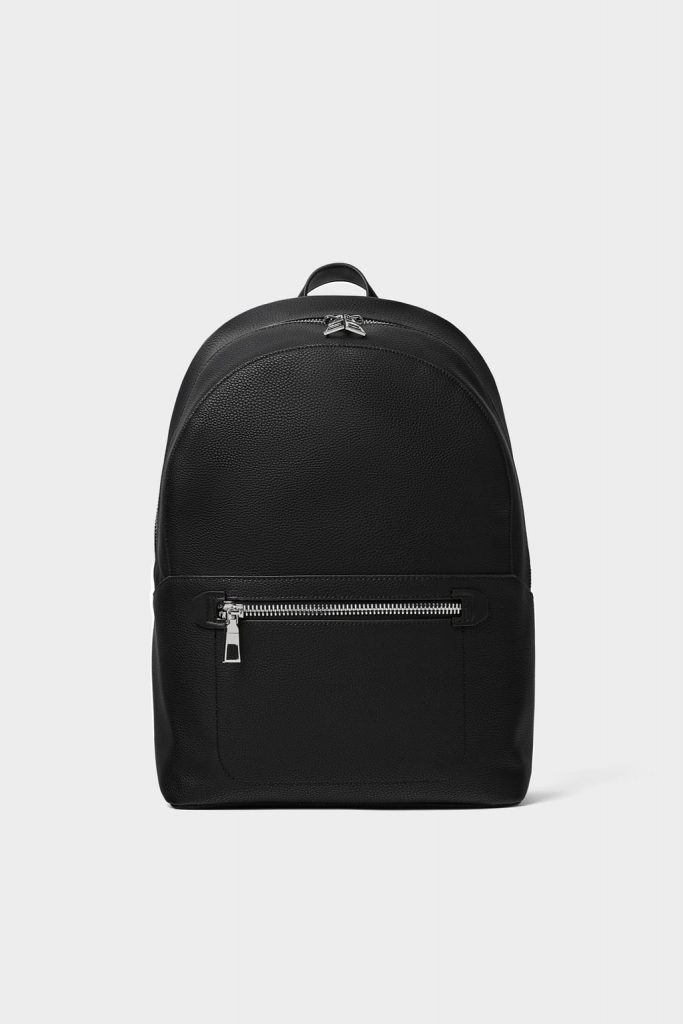 Ayushmann Khurrana leather backpack