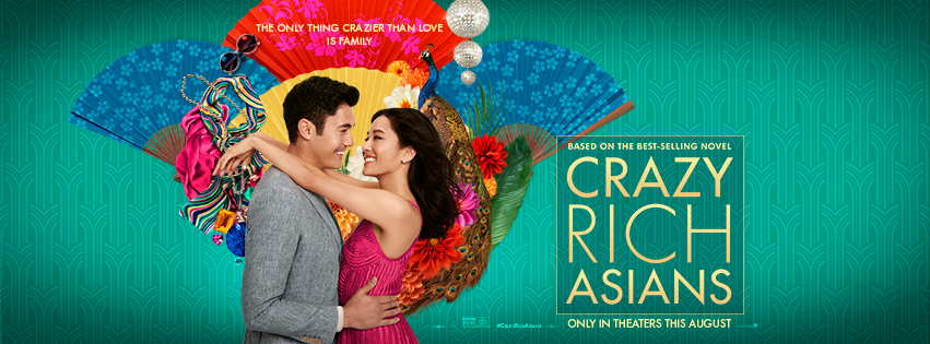 Crazy Rich Asians fashion poster
