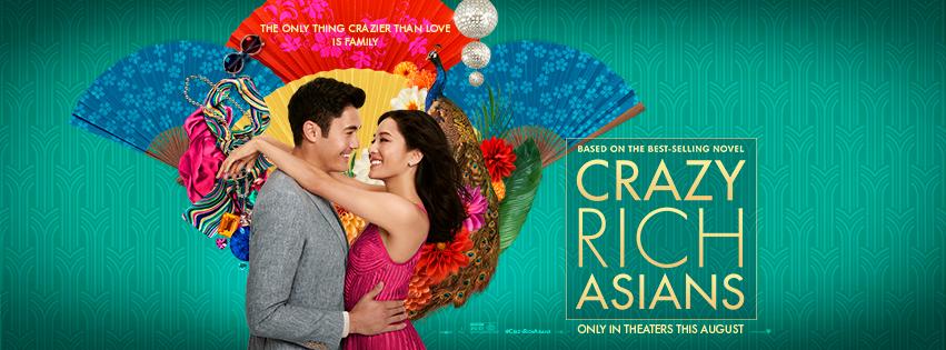 Crazy Rich Asians fashion poster
