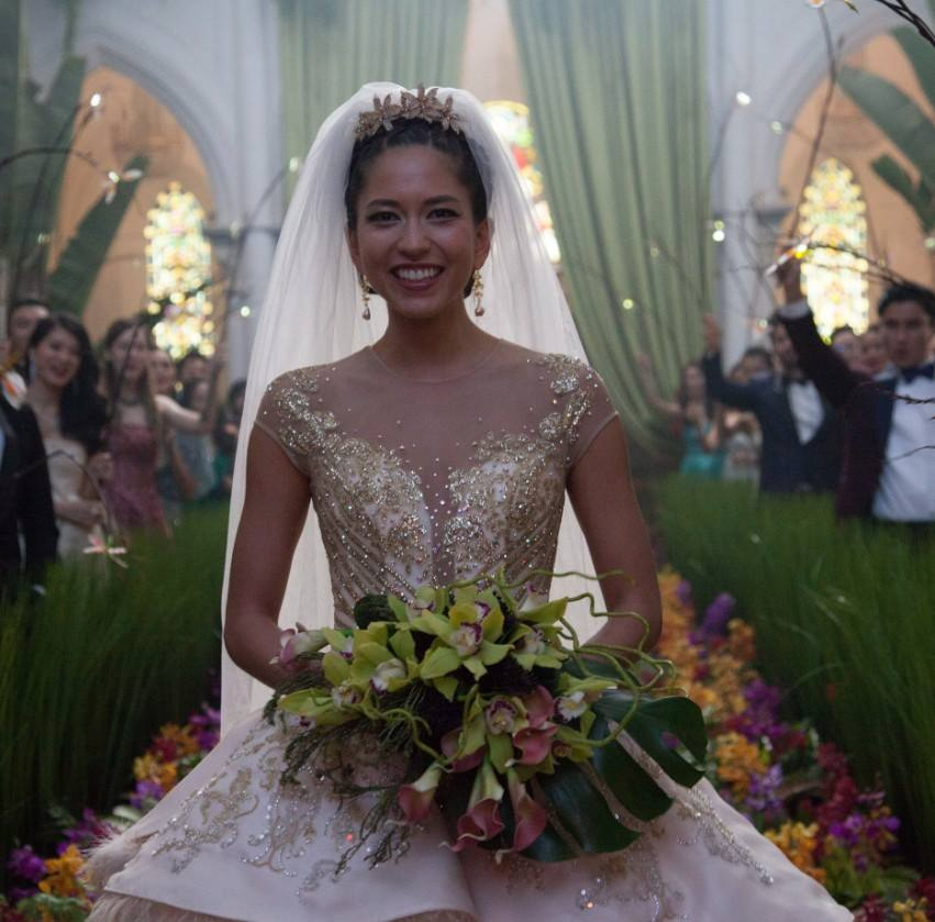 Crazy Rich Asians wedding fashion
