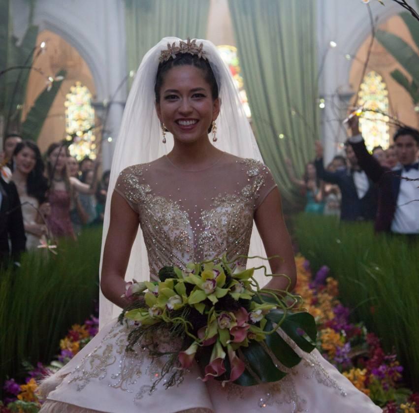 Crazy Rich Asians wedding fashion